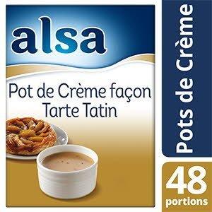 Alsa Pot de Crème façon Tarte Tatin 800g 48 portions