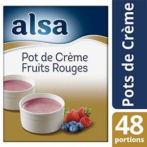 Alsa Pot de Crème Fruits Rouges  560g 48 portions -