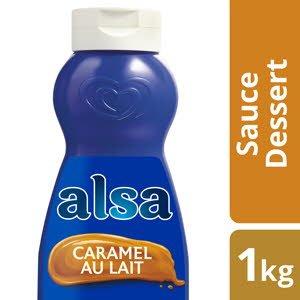 Alsa Sauce Saveur Caramel au Lait 1kg