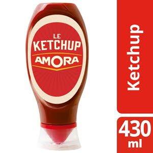 Amora Ketchup - flacon souple 430 ml - Fidéli'Chef -