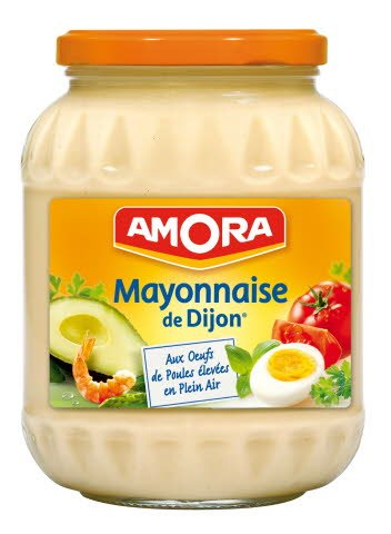 Amora Mayonnaise de Dijon Bocal 750ml
