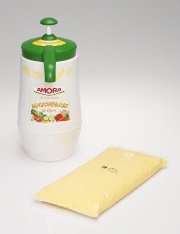 Amora Mayonnaise de Dijon Colis de 6 poches de 2.25 kg -