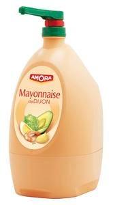 Amora Mayonnaise de Dijon Distributeur Jet Bar 5,5kg