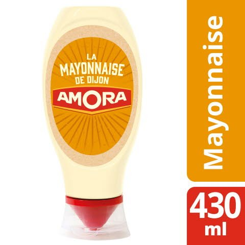 Amora Mayonnaise de Dijon Flacon 430ml -