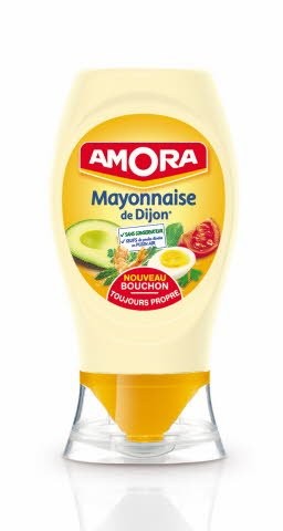Amora Mayonnaise de Dijon Flacon souple 235g -