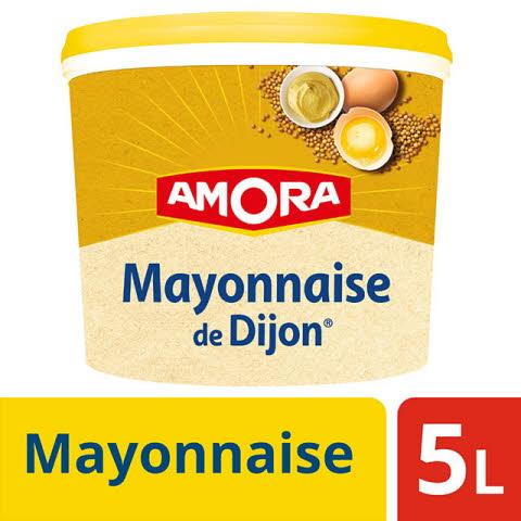 Amora Mayonnaise de Dijon - Seau 4.7kg