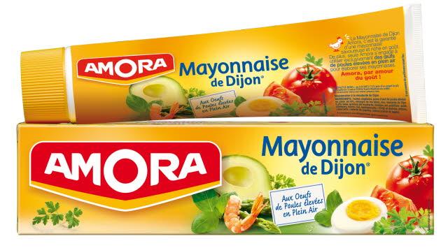 Amora Mayonnaise de Dijon - Tube 175 g