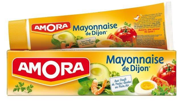 Amora Mayonnaise de Dijon Tube 175g