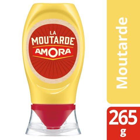 Amora Moutarde flacon souple 265g