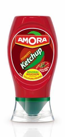 Amora Petit Ketchupier Souple Nature 280 g