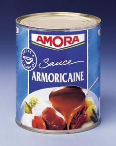 Amora Sauce Armoricaine - boîte 4/4 800g