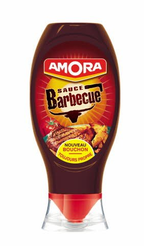 Amora Sauce Barbecue - Flacon souple 490 g