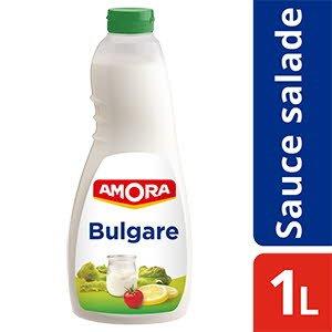 Amora Sauce et sandwich salade Bulgare 1L