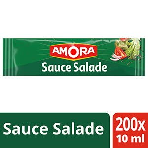 Amora Sauce salade - 200 dosettes de 10 ml