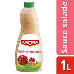 Amora Sauce Salade à la Méditerranéenne Salade & Sandwich 1 l