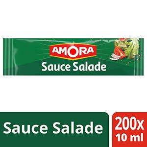 Amora Sauce Salade - Carton de 200 Dosettes de 10ml -