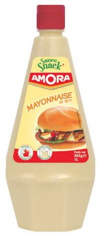 Amora Sauce Snack' Mayonnaise de Dijon 1L