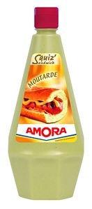 Amora Sauce Snack' Moutarde Fine et Forte 1L