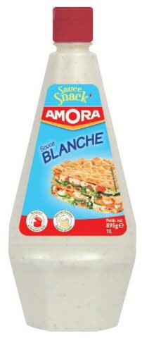 Amora Sauce Snack' Sauce Blanche 1L