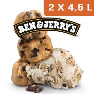 Ben & Jerry's Bac Cookie Dough - 2 x 4,5L -