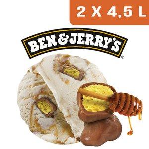 Ben & Jerry's Bac Home Sweet Honeycomb - 2 x 4,5L -