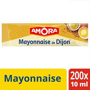 Boite Présentoir Amora Mayonnaise de Dijon 240 * 10 ml