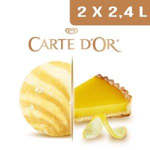 Carte d'Or Création glacée Délice façon Tarte au Citron - 2,4 L