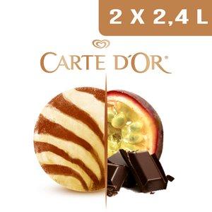 Carte d'Or Créations glacées Sensation Chocolat Passion 2,4L -