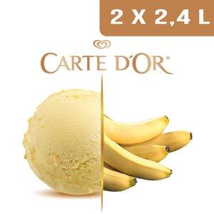 Carte d'Or Crème glacée Banane - 2,4 L