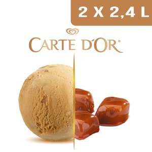 Carte d'Or Crème glacée Caramel Fleur de Sel - 2,4 L