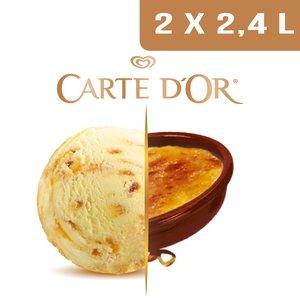 Carte d'Or Crème glacée Façon Crème Brûlée - 2,4 L
