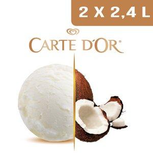 Carte d'Or Crème glacée Noix de Coco - 2,4 L