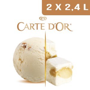 Carte d'Or Crème glacée Nougat - 2,4 L