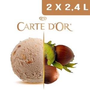 Carte d'Or Crème glacée Praliné - 2,4 L