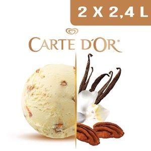 Carte d'Or Crème glacée Vanille Noix de Pécan - 2,4 L