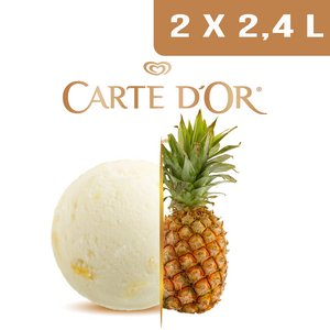 Carte d'Or Sorbets plein fruit Ananas - 2,4 L