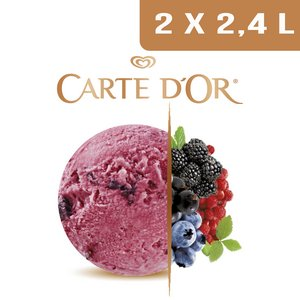 Carte d'Or Sorbets plein fruit Fruits des Bois - 2,4 L