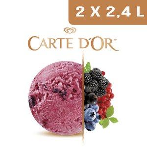 Carte d'Or Sorbets plein fruit Fruits des Bois - 2,4 L  -