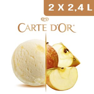 Carte d'Or Sorbets plein fruit Pomme - 2,4 L