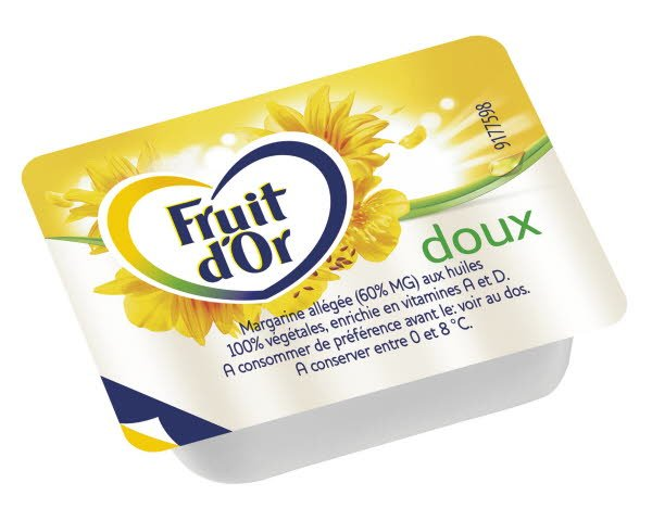 Fruit d'Or doux 10 g - 1 carton de 200 coupelles