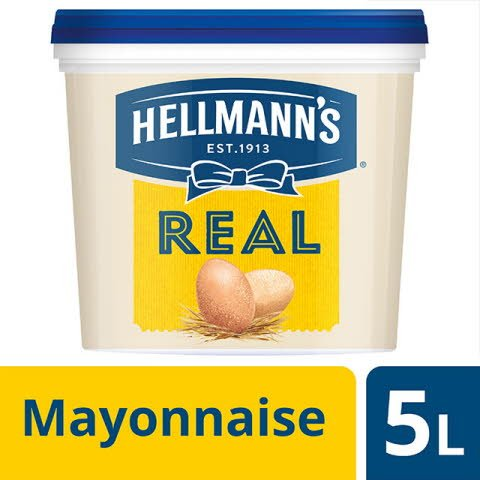 Hellmann's Real Mayonnaise seau 5l
