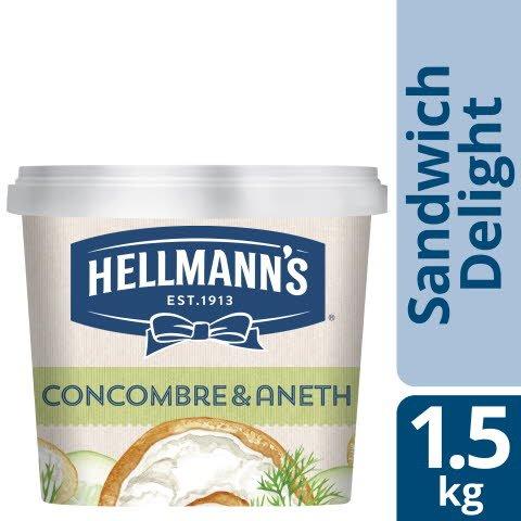 Hellmann's Sandwich Delight Concombre Aneth 1.5kg