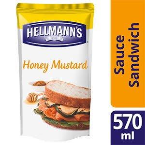 Hellmann's Sauce sandwich et burger Miel Moutarde 570ml -