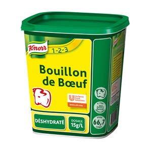 Knorr 1-2-3 Bouillon de Boeuf déshydraté -