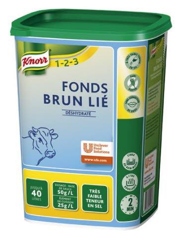 Knorr 1-2-3 Fonds Brun Lié FTS 1 kg -