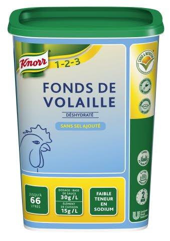Knorr 1-2-3 Fonds de Volaille FTS 1 kg