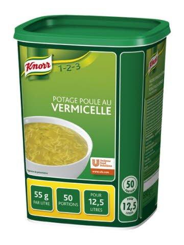 Knorr 1-2-3 Potage Poule au Vermicelle