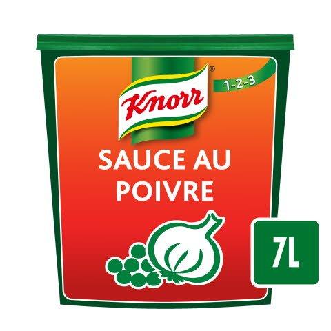 Knorr 1-2-3 Sauce au Poivre Déshydratée 840g (7L)