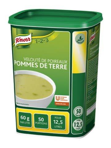 Knorr 1-2-3 Velouté de Poireaux Pommes de Terre -