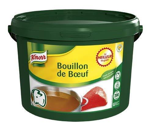 Knorr Bouillon de Boeuf Déshydraté seau 4Kg